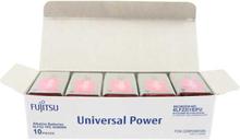 Fujitsu Universal Power 9V Alkaline Batteri - 10 stk.