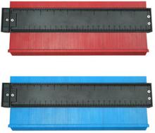 10inch Plastic Profile Copy Gauge Irregular Shaper Contour Gauge Duplicator Wood Marking Tool Tiling Laminate Tiles General Tool