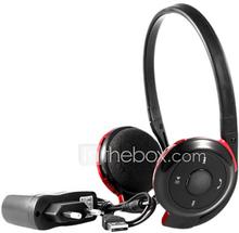 Korkealaatuinen Bluetooth Stereo On-Ear-kuuloke BH-503 (musta)