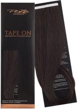 Poze Standard Tape On Extensions - 52g Dark Espresso Brown 2B - 50cm
