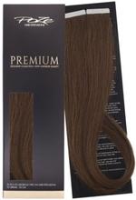 Poze Premium Tape On Extensions - 52g Lovely Brown 6B - 50cm