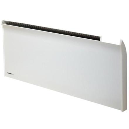 Glamox TPA El-radiator uten termostat 800W/400V, Hvit - 8 m²