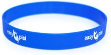 Easypisi - Anti-Rutsch Silikonband - für Windelfrei Töpfchen mit Spritzschutz - Blau