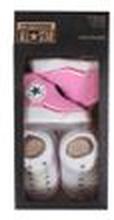 Converse Baby 2-er Geschenk-Set Socken pink-weiß
