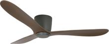 Texa Design Takfläkt Cetus-Antracitgrå-Mörk Valnöt