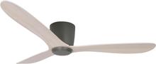 Texa Design Takfläkt Cetus-Antracitgrå-Vitlaserad Ek