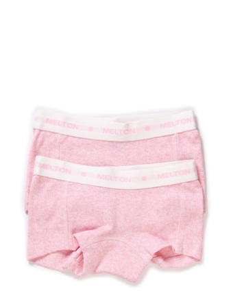 Numbers, 2-Pk Rib Girl Shorts - Boozt