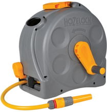 Hozelock Slangvinda Compact Reel 2-i-1 med slang 25m