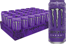Monster Energy Ultra Violet 50cl x 24st (helt flak)