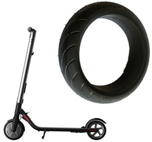 8-tums Scooter Solid Däck Däckhjul för Ninebot Es1 Es2