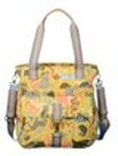 Oilily Damen Handtasche Shopper Baby Bag Sahara Zoo (Tiermuster) Sunrise (gelb)