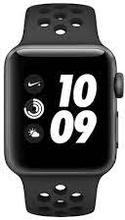 Watch Series 2 - Nike+ 38mm Sort Black Leather Sort