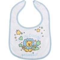 Blå Nursery Time Dinner, Lunch & Breakfast Smekker