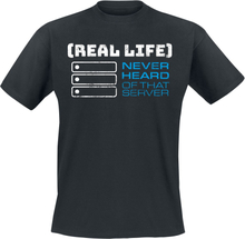 Never Heard Of That Server - -T-skjorte - svart