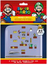 Super Mario - Mushroom Kingdom (Set) -Kjøleskapmagnet - flerfarget