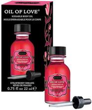 Kamasutra Oil of Love Strawberry Dreams