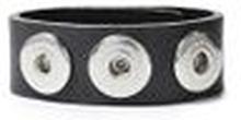 Noosa Armband classic skinny antique black ohne Chunks