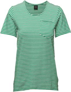Ladies T-Shirt, Liitu T-shirts & Tops Short-sleeved Grønn Nanso