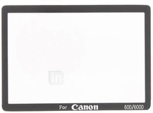 Kameran LCD Lasi Suojakannella Canon 60D/600D