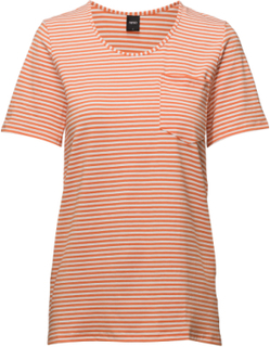 Ladies T-Shirt, Liitu T-shirts & Tops Short-sleeved Oransje Nanso