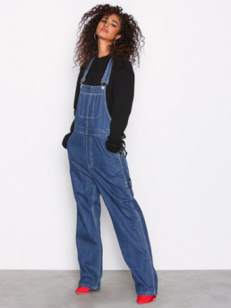 Straight - Blå Sweet Sktbs Sweet Dungaree Pants