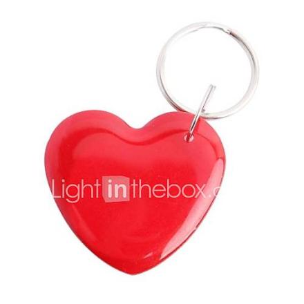 122205 Love Heart Shaped Uudelleenkirjoitettava Vedenpitävä Smart Fax NFC Smart Tag - Red