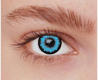Blå kontaktlinser OU2BL