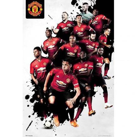 Manchester United plakat spillere 24
