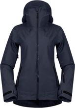 Bergans Stranda Insulated Hybrid Women's Jacket Dame skijakker fôrede Blå XS