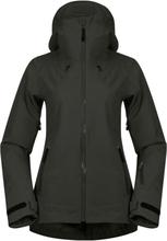 Bergans Stranda Insulated Hybrid Women's Jacket Dame skijakker fôrede Grønn XS