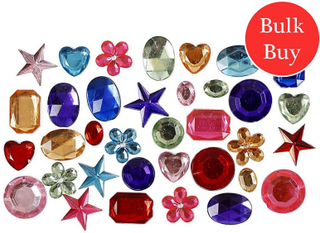 Crafty Capers Blandade Bulk blandat Jewel strass - 1600pk Diverse