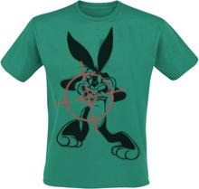 Looney Tunes - Bugs Bunny - Zielen -T-skjorte - grønn
