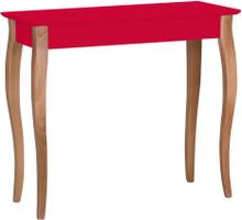 LILLO Konsolentisch 85x35cm - Rot - Rot \ 85 cm