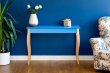 LILLO Konsolentisch 105x35cm - Blau - Blau \ 105 cm