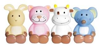 Teddykompaniet Diinglisar Badleksaker (4-Pack) 0 - 6 år