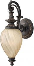 Montreal Væglampe H52,1 cm 1 x E27 - Aldret jern/Rav