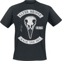 Alter Bridge - Raven Skull -T-skjorte - svart