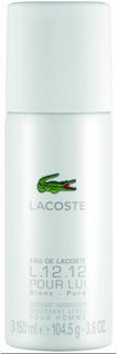 Lacoste L 1212 Eau De Lacoste Blanc Pure White For Men Deodorant spray 150 ml