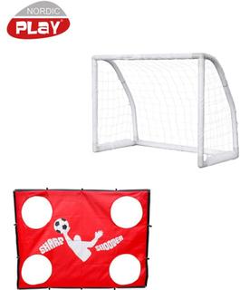 NORDIC PLAY Soccer Goal inkl. Sharp Shooter