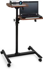 TS-6 projektor-vagn laptop-bord justerbar höjd 83 - 107 cm svart
