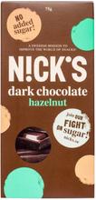 """Mörk Choklad """"Hazelnut"""" 75g - 38% rabatt"""