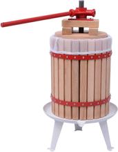 vidaXL Frukt- och vinpress 18 L