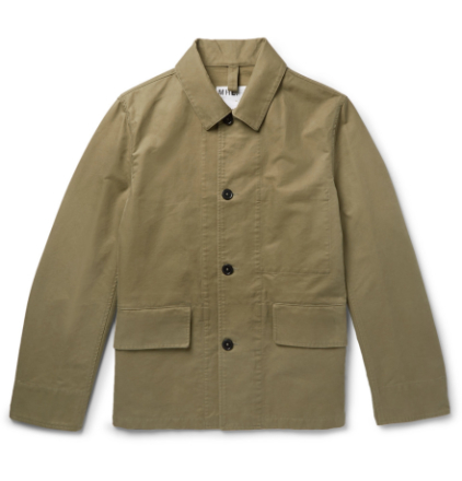 Mhl Cotton-drill Jacket - Army green