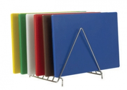 Skärbräda i kraftig plast, 47,5 x 30,5 cm, flera färger