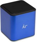 Kitsound högtalare cube bluetooth blå