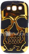 Hybridi Metalli Väri Hard runko ja pehmeä kuori Samsung Galaxy S3 I9300