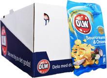 Hel Låda Chips Gräddfil & Lök 20 x 40g - 50% rabatt