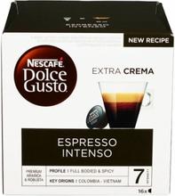 Nescafe Dolce Gusto Espresso Intenso 16 stk