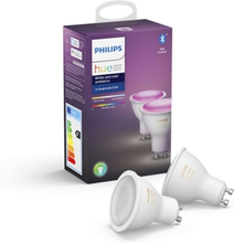 Philips Hue White and Color Ambiance 2-pack GU10
