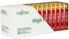 Fujitsu High Power AAA Alkaline Batterier - 40 stk.